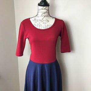 Lularoe Color Block Dress
